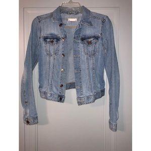H&M Light Wash Denim Jean Jacket 6